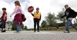 WP school crossing