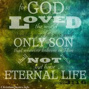 WP For God so loved