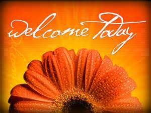 WP welcome today